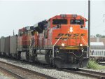 BNSF 8599 EMD SD70ACe passes through Rosenberg
